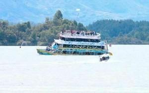 Chìm tàu 4 tầng chở 150 người ở Colombia