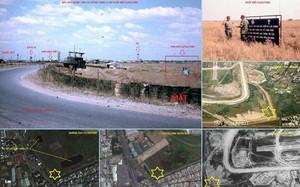 Một số hình ảnh được gửi kèm văn bản gửi Cục Chính sách về vị trí và các dữ liệu hình ảnh cho thấy có khả năng tồn tại một khu mộ tập thể.