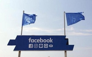 Logo của Facebook. (Nguồn: Reuters)