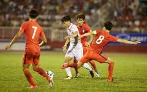 Công Phượng đã thi đấu ấn tượng ở trận gặp U22 Hàn Quốc. (Nguồn: Tuoitre.vn)