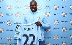 Mendy trở thành hậu vệ đắt giá nhất thế giới sau khi đến Man City. (Nguồn: Manchester City)