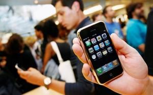 Một cửa hàng Apple ở thành phố New York (Mỹ) - Ảnh: REUTERS
