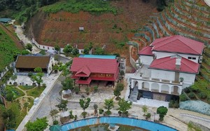 Khu biệt phủ của gia đình ông Phạm Sỹ Quý ở TP Yên Bái.
