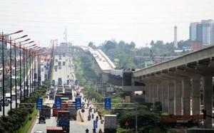 Tuyến metro 1 đã hoàn thành hơn 17 km.