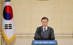Tổng thống Hàn Quốc Moon Jae-in. (Ảnh: THX/TTXVN)
