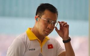 Hoàng Xuân Vinh đã không bảo vệ đươc tấm HCV SEA Games nội dung 50m súng ngắn hơi.