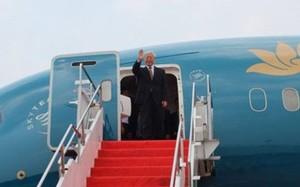 Hôm nay, Tổng Bí thư lên đường thăm cấp Nhà nước Myanmar