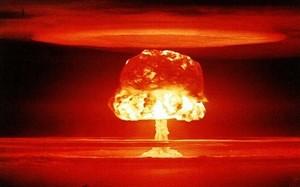Vụ thử bom hạt nhân Castle Romeo của Mỹ năm 1954. Ảnh: Bộ Năng lượng Mỹ.