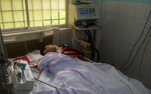 Bệnh nhân L. đã tử vong sau 3 ngày được các bác sĩ tích cực điều trị. Ảnh: Vũ Di.