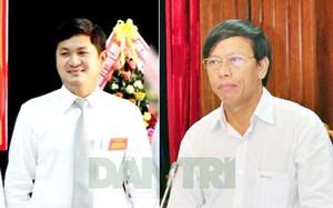 Ông Lê Phước Hoài Bảo (trái) và ông Lê Phước Thanh.