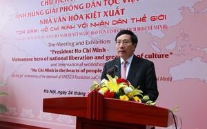 Phó Thủ tướng Phạm Bình Minh phát biểu tại buổi lễ. Ảnh: VGP/Hải Minh