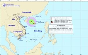Thời tiết ngày 22/7: Xuất hiện áp thấp nhiệt đới ở Bắc Biển Đông