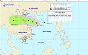 Tin cơn bão số 4: Bão SONCA đổ bộ vào vùng biển Thanh Hóa-Thừa Thiên Huế từ chiều mai