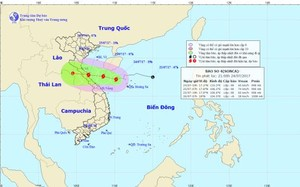 Thời tiết ngày 25/7: Bão SONCA đổ bộ vào Hà Tĩnh-Quảng Bình vào đêm mai, gây mưa trên cả nước