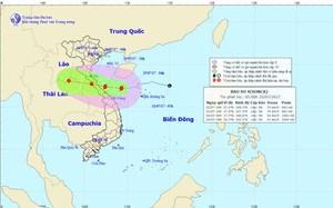 Tin bão: Bão số 4 đổ bộ vào Hà Tĩnh - Quảng Trị tối nay