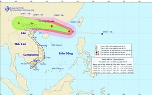 Thời tiết ngày 23/8: Mưa lớn toàn Bắc Bộ do ảnh hưởng của bão Hato