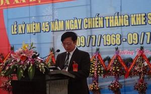Quảng Trị: Phó Bí thư huyện xin không luân chuyển vì lí do sức khỏe
