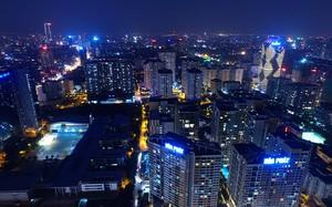Đô thị Hà Nội nhìn từ trên cao. Ảnh: Dân trí