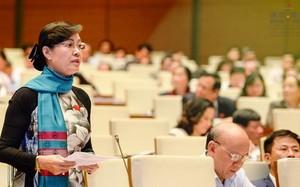 ĐBQH Nguyễn Thị Quyết Tâm-Chủ tịch HĐND TP HCM. Ảnh: Quốc hội