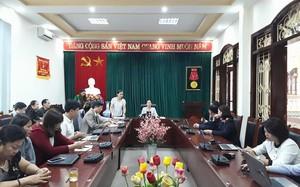 Buổi họp tại Ban Tuyên giáo Sơn La. Ảnh: Vietnamnet