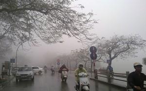 Gió mùa đông bắc gây mưa dông, đẩy mức nhiệt xuống dưới 6 Độ