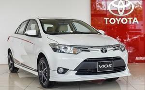 Mẫu Toyota Vios TRD giảm gần 60 triệu.
