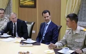 Tổng thống Nga Putin hội kiến Tổng thống Syria Bashar al-Assad