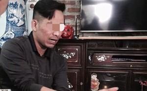 Người cha bạo hành con mình. Ảnh:Vietnamnet