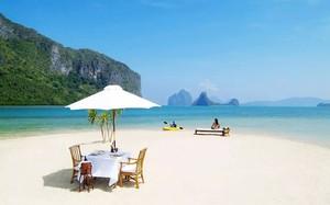 """Nơi này  được gọi là """"Bãi biển Utopia"""" -  bãi biển tình yêu"""