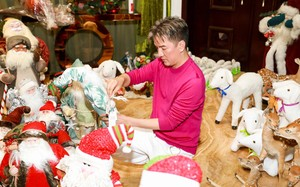 Mr. Đàm trang hoàng biệt thự triệu đô đón Noel