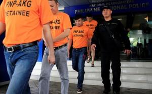 Philippines bắt giữ 43 người nước ngoài vì tội bắt cóc