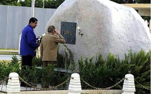 Tổng thống Venezuela tỏ lòng tôn kính với lãnh tụ Fidel Castro