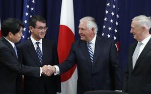 Mỹ-Nhật tăng cường hợp tác quốc phòng đối phó Triều Tiên