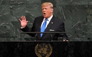 Trump tuyên bố Mỹ có thể 'hủy diệt hoàn toàn' Triều Tiên