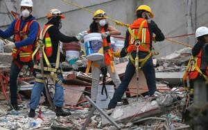 5 ngày sau trận động đất Mexico, số người thiệt mạng tăng lên 318