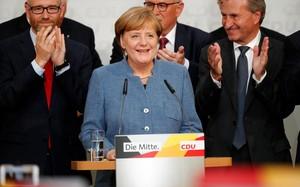 Bầu cử Đức: Thủ tướng Angela Merkel tái đắc cử nhiệm kì thứ 4