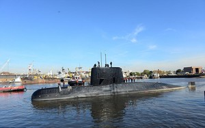 Phát hiện âm thanh được nghi là của tàu ngầm Argentina mất tích