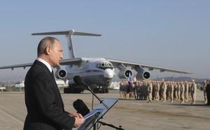 Hoàn thành 'sứ mệnh Syria', Tổng thống Putin quyết định rút quân