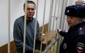 Cựu Bộ trưởng Nga bị kết án 8 năm tù do nhận hối lộ