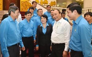 Thủ tướng Nguyễn Xuân Phúc làm việc với Tổng liên đoàn lao động Việt Nam