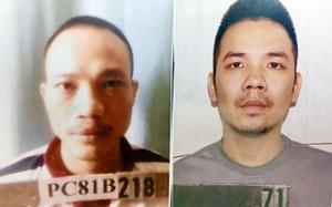 Hình ảnh hai tên tử tù vừa bỏ trốn khỏi trại giam T16 Bộ Công an