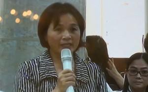 Bà Võ Thị Xuân, vợ cựu Tổng Giám đốc Oceanbank sẵn sàng bán tài sản để cứu chồng thoát khỏi án tử.