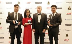 Đai diện Viettel nhận giải thưởng Stevie Award 2017