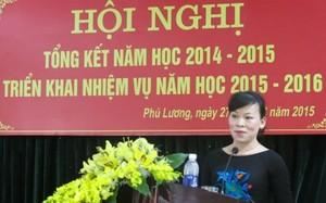 Bà Nguyễn Thị Mai, Bí thư Huyện ủy huyện Phú Lương
