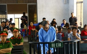 Bị cáo Bảo tại phiên tòa xét xử