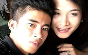 """Nguyễn Quốc Bình  và """"bạn gái"""" Nguyễn Trung Hiếu."""