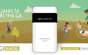 Viettel tung ra bộ phát Wifi Router 4G D6606 siêu rẻ, siêu tốc độ