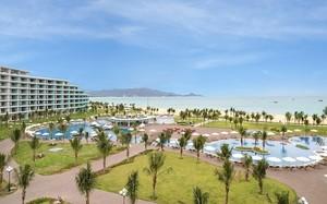 """Khách sạn FLC Luxury Hotel Quynhon đoạt giải """"Thiết kế kiến trúc khách sạn độc đáo nhất"""" tại Giải thưởng Bất động sản châu Á năm 2016."""