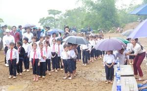 Các em học sinh Trường Tiểu học Pú Xi.