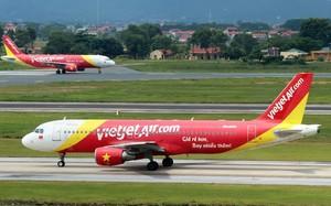 Chỉ số đúng giờ OTP của hàng không Vietjet trong 6 tháng đầu năm 2017 tăng 2% so với đầu năm 2016